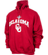 Men's Oklahoma Sooners College Cotton Pullover Hoodie