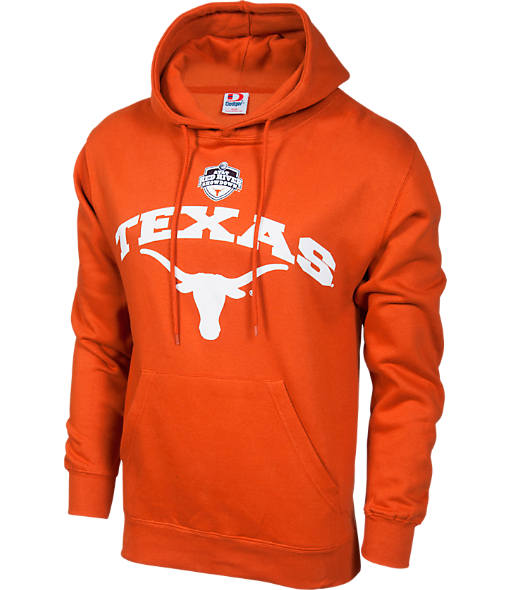 Men's Texas Longhorns College Cotton Pullover Hoodie