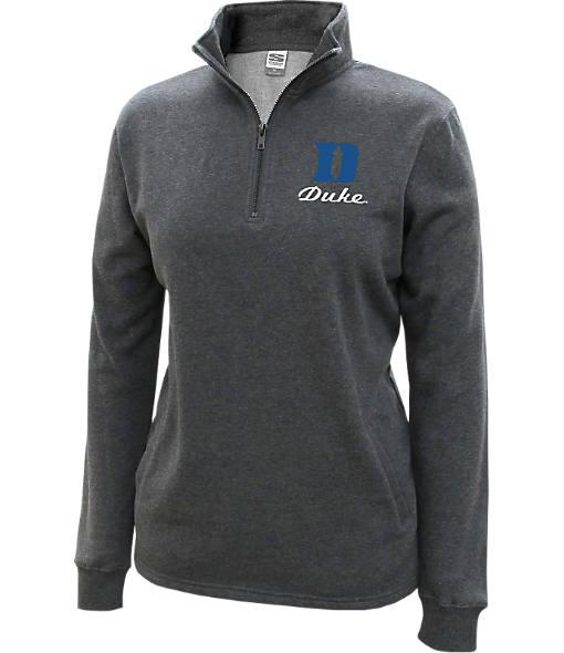 Women's Stadium Duke Blue Devils College Cotton Quarter Zip Sweatshirt