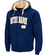 Men's Stadium Notre Dame Fighting Irish College Cotton Full Zip Hoodie