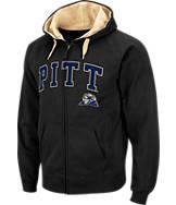 Men's Stadium Pitt Panthers College Cotton Full Zip Hoodie