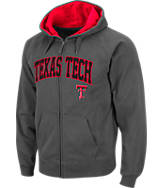 Men's Stadium Texas Tech Red Raiders College Cotton Full Zip Hoodie