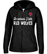 Women's J. America Arkansas State Red Wolves College Cotton Full-Zip Hoodie