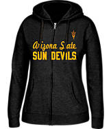 Women's J. America Arizona State Sun Devils College Cotton Full-Zip Hoodie