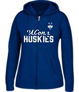 Women's J. America UConn Huskies College Full-Zip Hoodie