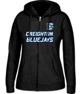 Women's J. America Creighton Blue Jays College Cotton Full-Zip Hoodie