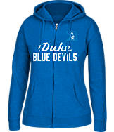 Women's J. America Duke Blue Devils College Full-Zip Hoodie