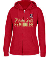 Women's J. America Florida State Seminoles College Full-Zip Hoodie