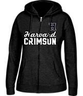 Women's J. America Harvard Crimson College Full-Zip Hoodie