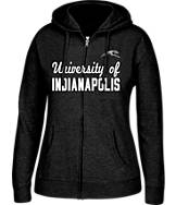 Women's J. America Indianapolis Greyhounds College Full-Zip Hoodie