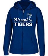 Women's J. America Memphis Tigers College Full-Zip Hoodie
