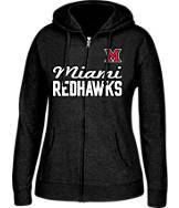 Women's J. America Miami Ohio Redhawks College Full-Zip Hoodie