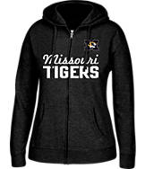 Women's J. America Missouri Tigers College Full-Zip Hoodie
