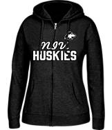 Women's J. America Northern Illinois Huskies College Full-Zip Hoodie