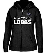 Women's J. America New Mexico Lobos College Full-Zip Hoodie
