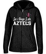 Women's J. America San Diego State Aztecs College Full-Zip Hoodie