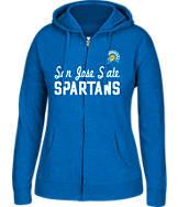 Women's J. America San Jose Sharks College Full-Zip Hoodie