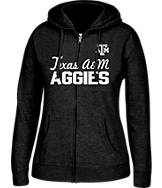 Women's J. America Texas A & M Aggies College Full-Zip Hoodie