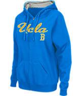 Women's Stadium UCLA Bruins College Cotton Full-Zip Chevron Hoodie
