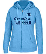 Women's J. America North Carolina Tar Heels College Cotton Full-Zip Hoodie