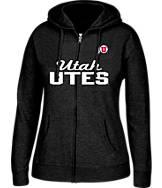 Women's J. America Utah Utes College Full-Zip Hoodie