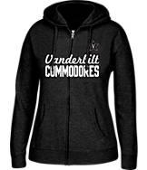 Women's J. America Vanderbilt Commodores College Full-Zip Hoodie