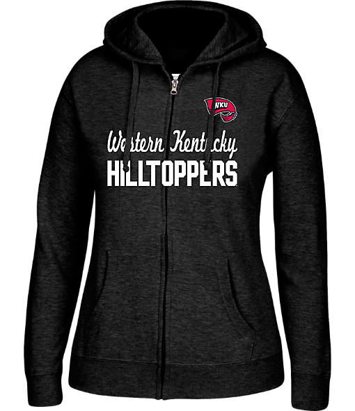 Women's J. America Western Kentucky Hilltoppers College Full-Zip Hoodie