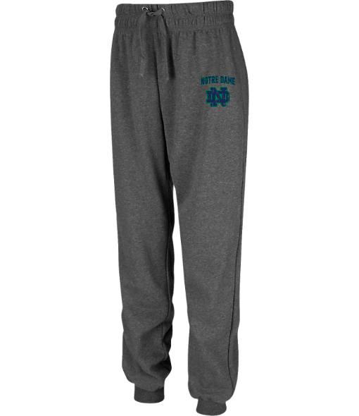 Women's Stadium Notre Dame Fighting Irish College Cotton Jogger Sweatpants