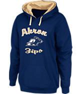 Women's Stadium Akron Zips College Cotton Pullover Hoodie