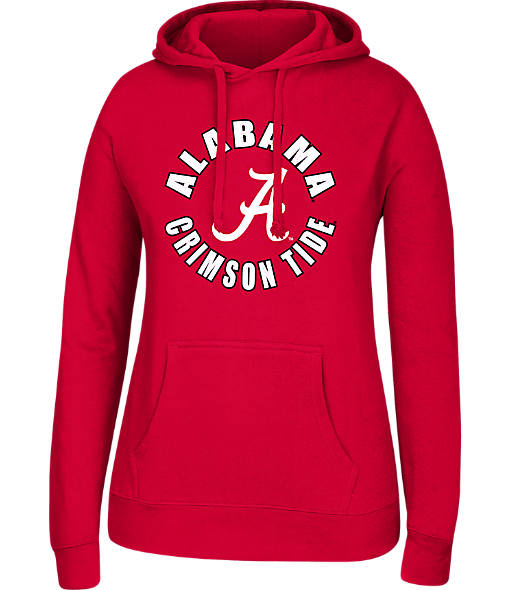 Women's J. America Alabama Crimson Tide College Cotton Pullover Hoodie