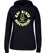 Women's J. America Appalachian State Mountaineers College Cotton Pullover Hoodie