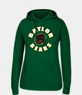 Women's J. America Baylor Bears College Cotton Pullover Hoodie