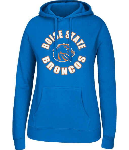Women's J. America Boise State Broncos College Cotton Pullover Hoodie