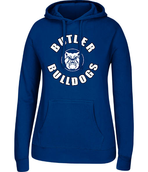 Women's J. America Butler Bulldogs College Cotton Pullover Hoodie