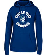 Women's J. America BYU Cougars College Cotton Pullover Hoodie