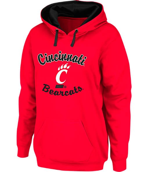 Women's Stadium Cincinnati Bearcats College Cotton Pullover Hoodie