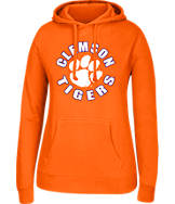 Women's J. America Clemson Tigers College Cotton Pullover Hoodie