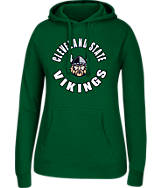 Women's J. America Cleveland State Vikings College Cotton Pullover Hoodie