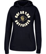 Women's J. America Colorado Buffaloes College Cotton Pullover Hoodie