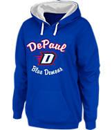 Women's Stadium DePaul Blue Demons College Cotton Pullover Hoodie