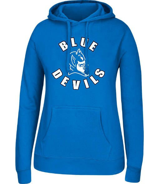 Women's J. America Duke Blue Devils College Cotton Pullover Hoodie