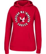 Women's J. America Eastern Washington Eagles College Cotton Pullover Hoodie