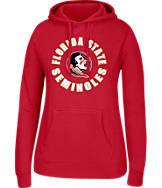 Women's J. America Florida State Seminoles College Cotton Pullover Hoodie