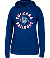 Women's J. America Gonzaga Bulldogs College Cotton Pullover Hoodie