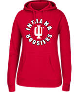 Women's J. America Indiana Hoosiers College Cotton Pullover Hoodie