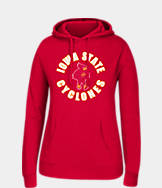 Women's J. America Iowa State Cyclones College Cotton Pullover Hoodie