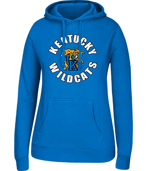 Women's J. America Kentucky Wildcats College Cotton Pullover Hoodie