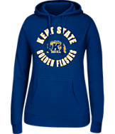 Women's J. America Kent State Golden Flashes College Cotton Pullover Hoodie