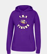 Women's J. America LSU Tigers College Cotton Pullover Hoodie