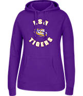Women's J. America LSU Tigers College Cotton Pullover Hoodie